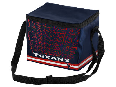 Houston Texans 6-pack Lunch Cooler Big Logo