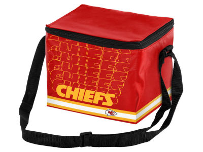 Kansas City Chiefs 6-pack Lunch Cooler Big Logo