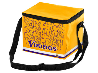 Minnesota Vikings 6-pack Lunch Cooler Big Logo