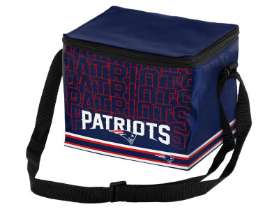 New England Patriots 6-pack Lunch Cooler Big Logo