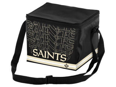 New Orleans Saints 6-pack Lunch Cooler Big Logo