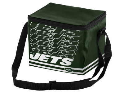 New York Jets 6-pack Lunch Cooler Big Logo