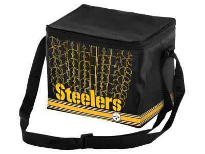 Pittsburgh Steelers 6-pack Lunch Cooler Big Logo