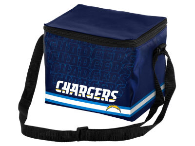 San Diego Chargers 6-pack Lunch Cooler Big Logo