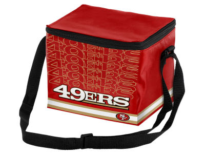 San Francisco 49ers 6-pack Lunch Cooler Big Logo
