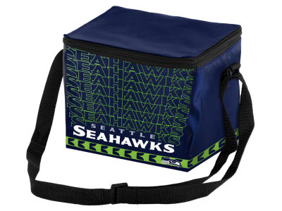 Seattle Seahawks 6-pack Lunch Cooler Big Logo