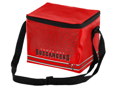 Tampa Bay Buccaneers 6-pack Lunch Cooler Big Logo