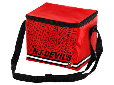 New Jersey Devils 6-pack Lunch Cooler Big Logo