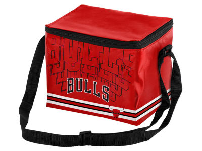 Chicago Bulls 6-pack Lunch Cooler Big Logo