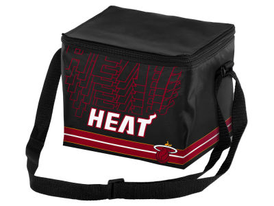 Miami Heat 6-pack Lunch Cooler Big Logo