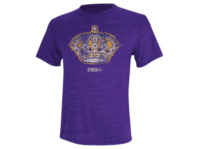 Los Angeles Kings Reebok NHL CCM Retro Logo T-Shirt