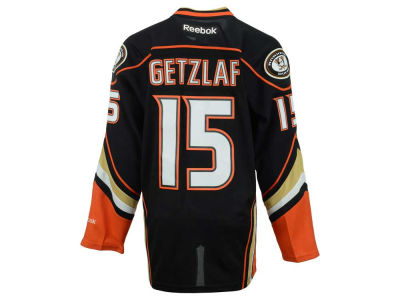 Anaheim Ducks Ryan Getzlaf Reebok NHL Premier Player Jersey
