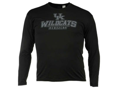 Kentucky Wildcats NCAA Men's Black Ice Beast Long Sleeve T-Shirt