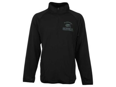 Florida Gators NCAA Men's Black Ice Field General 1/4 Zip Pullover Shirt