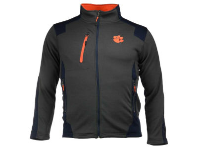 Clemson Tigers NCAA Men's Double Coverage Poly Jacket