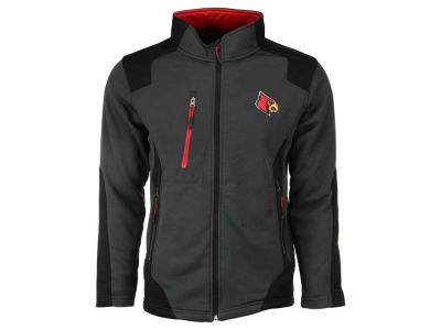 Louisville Cardinals NCAA Men's Double Coverage Poly Jacket