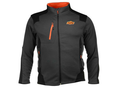 Oklahoma State Cowboys NCAA Men's Double Coverage Poly Jacket