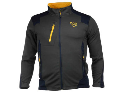 West Virginia Mountaineers NCAA Men's Double Coverage Poly Jacket