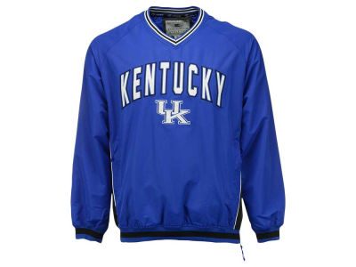 Kentucky Wildcats Colosseum NCAA Men's Fair Catch Pullover Jacket