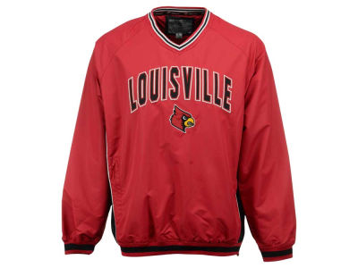 Louisville Cardinals Colosseum NCAA Men's Fair Catch Pullover Jacket