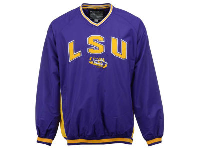 LSU Tigers Colosseum NCAA Men's Fair Catch Pullover Jacket