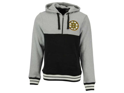 Boston Bruins '47 NHL Men's Crossfire Half Zip Hoodie
