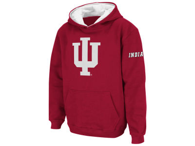 Indiana Hoosiers Colosseum NCAA Men's Big Logo Hoodie