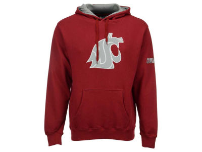 Washington State Cougars Colosseum NCAA Men's Big Logo Hoodie