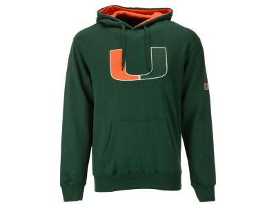 Miami Hurricanes NCAA Men's Big Logo Hoodie