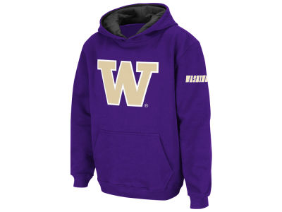 Washington Huskies NCAA Men's Big Logo Hoodie