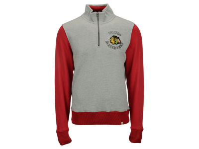 Chicago Blackhawks '47 NHL Men's Coverage 1/4 Zip Pullover Shirt