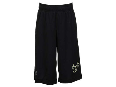 South Florida Bulls Under Armour NCAA Youth Raid Shorts
