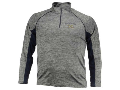 Michigan Wolverines NCAA Men's Stinger II Raglan 1/4 Zip Pullover Shirt