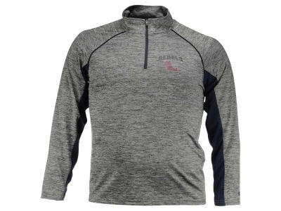 Ole Miss Rebels NCAA Men's Stinger II Raglan 1/4 Zip Pullover Shirt