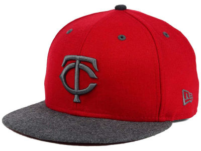 Minnesota Twins New Era MLB G-Wooly 59FIFTY Cap