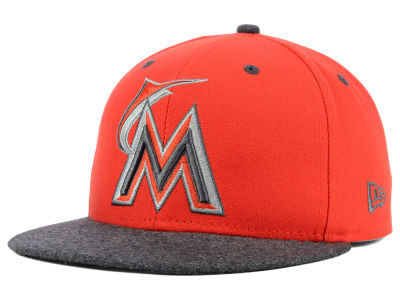 Miami Marlins New Era MLB G-Wooly 59FIFTY Cap