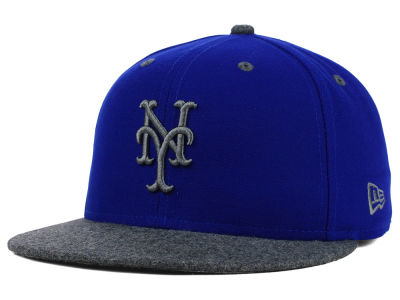 New York Mets New Era MLB G-Wooly 59FIFTY Cap