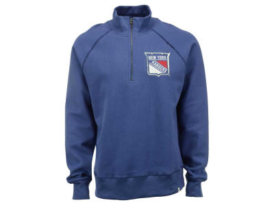 New York Rangers '47 NHL Men's X-Check 1/4 Zip Pullover Shirt