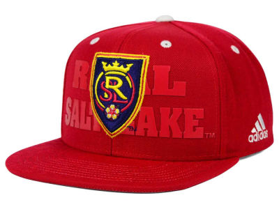 Real Salt Lake adidas MLS Academy Snapback Cap