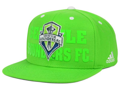 Seattle Sounders FC adidas MLS Academy Snapback Cap