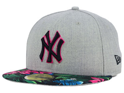 New York Yankees New Era MLB Floral Mashup 59FIFTY Cap