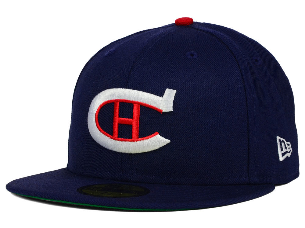 9326fb11f11 Montreal Canadiens New Era NHL Vintage Solid 59FIFTY Cap