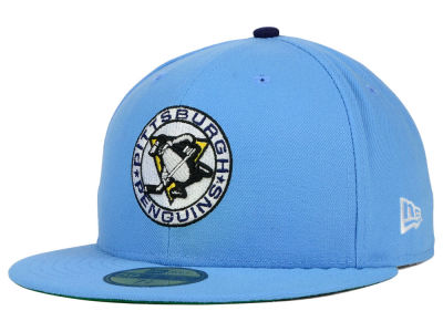 Pittsburgh Penguins New Era NHL Vintage Solid 59FIFTY Cap