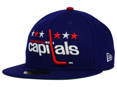 Washington Capitals New Era NHL Vintage Solid 59FIFTY Cap