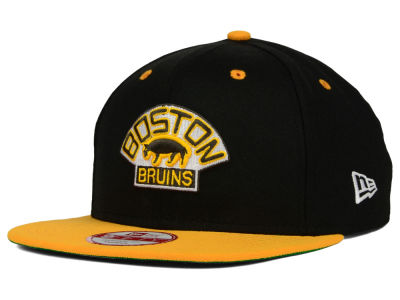 Boston Bruins New Era NHL Vintage 2 Tone 9FIFTY Snapback Cap