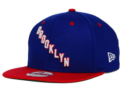 Brooklyn Americans New Era NHL Vintage 2 Tone 9FIFTY Snapback Cap