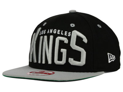 Los Angeles Kings New Era NHL Vintage Big Word 9FIFTY Snapback Cap