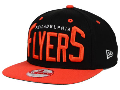 Philadelphia Flyers New Era NHL Vintage Big Word 9FIFTY Snapback Cap