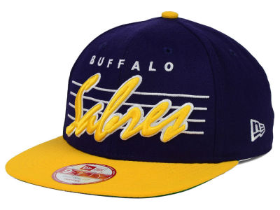 Buffalo Sabres New Era NHL Vintage Liner 9FIFTY Snapback Cap