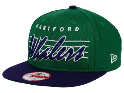 Hartford Whalers New Era NHL Vintage Liner 9FIFTY Snapback Cap